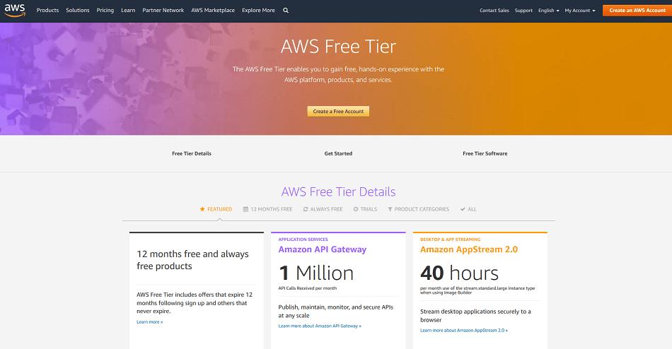 Amazon Web Services account