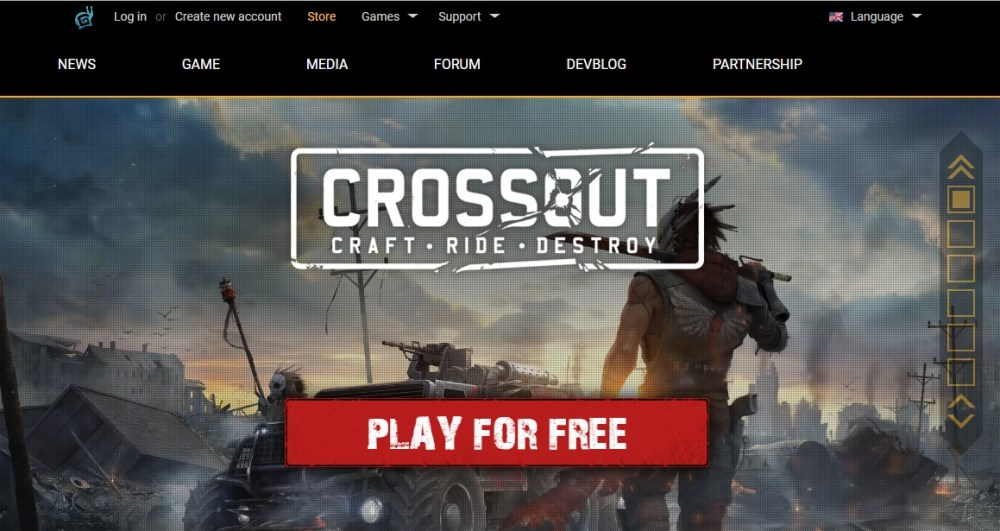 Crossout exceptional MMORPG game