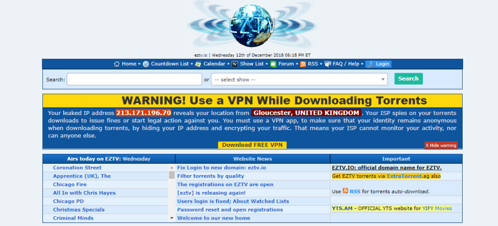 14 Best Free Torrent Download sites 2019: The Pirate Bay Alternatives