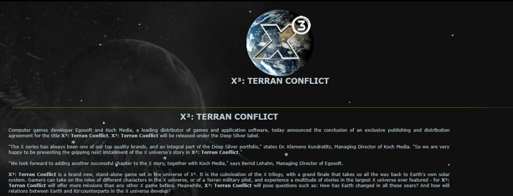 Terran conflict