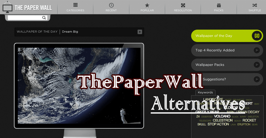 ThePaperWall Alternatives to Download HD Wallpapers