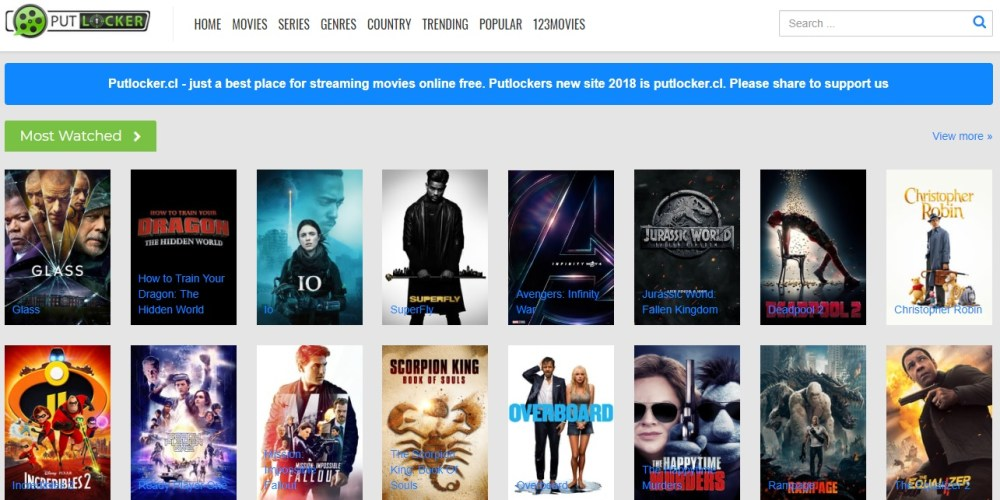 10 CMovies Alternative Sites to Watch New Movies Online for Free