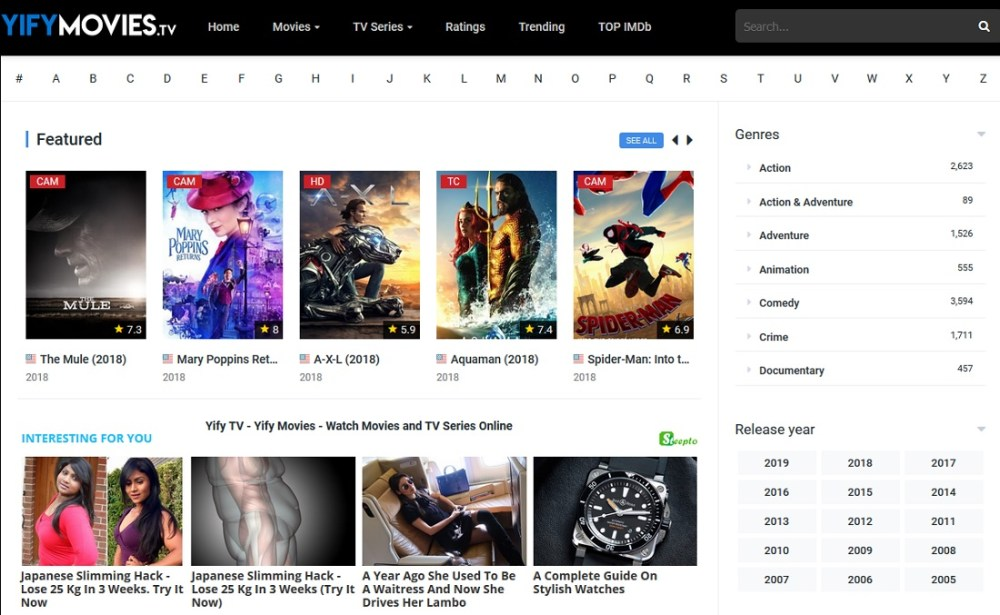 best site to download tv series episodes for free