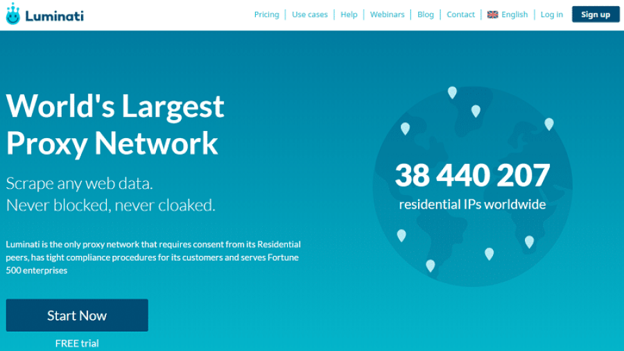 luminati residential proxy network
