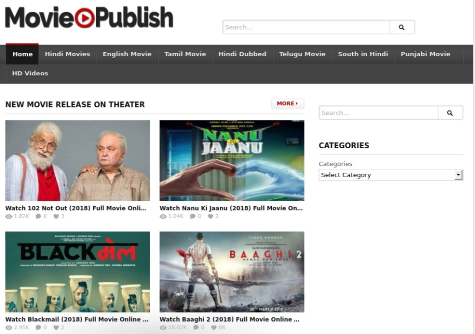 MoviePublish