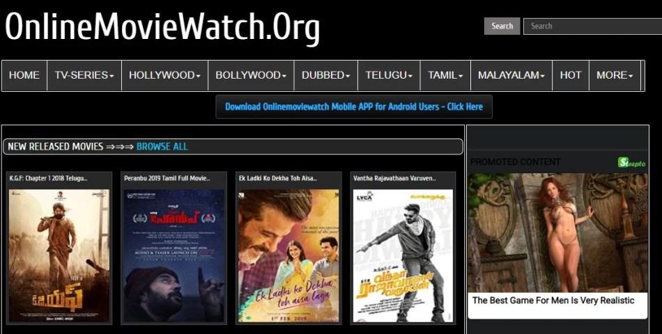 Online Movie Watch