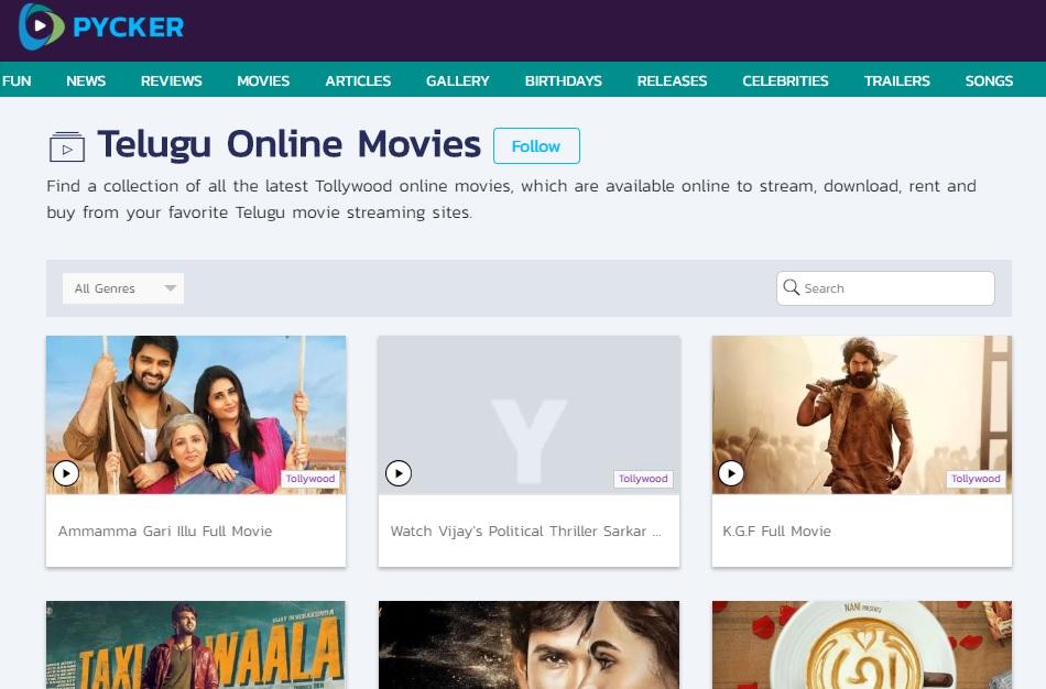 free online movies download telugu latest