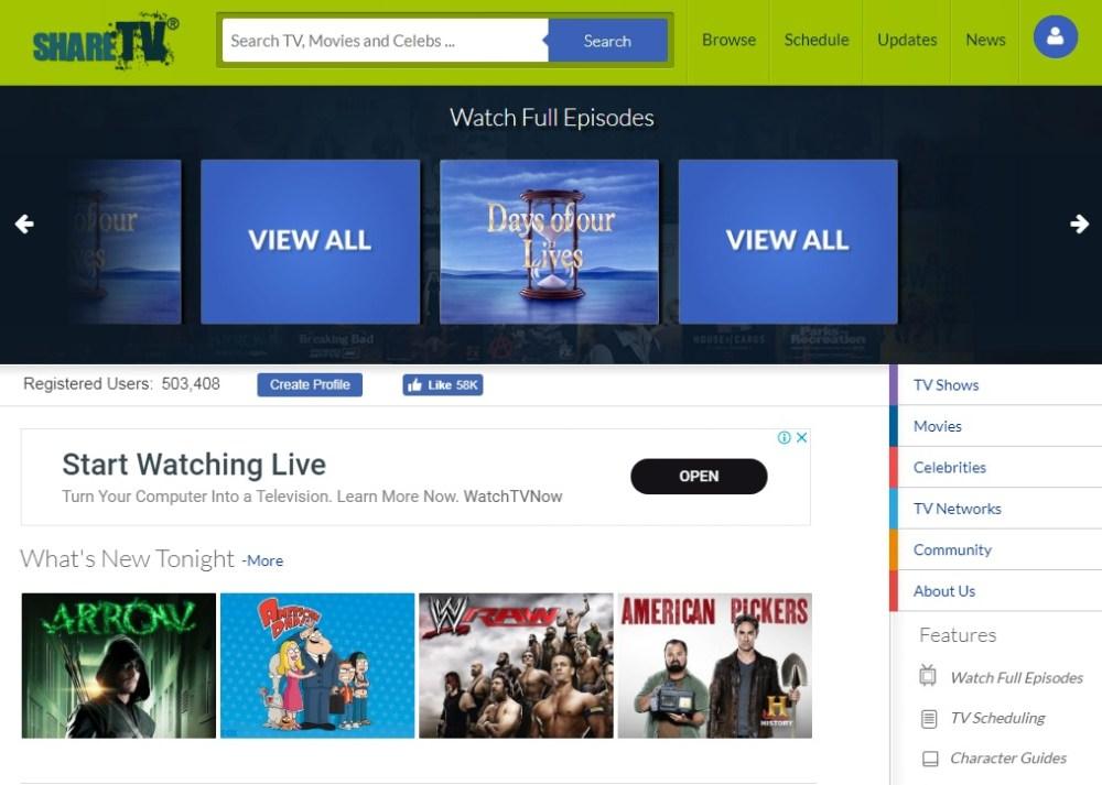 Share TV 123