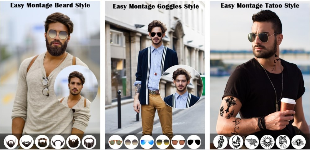 Man HairStyle Photo Editor 2018