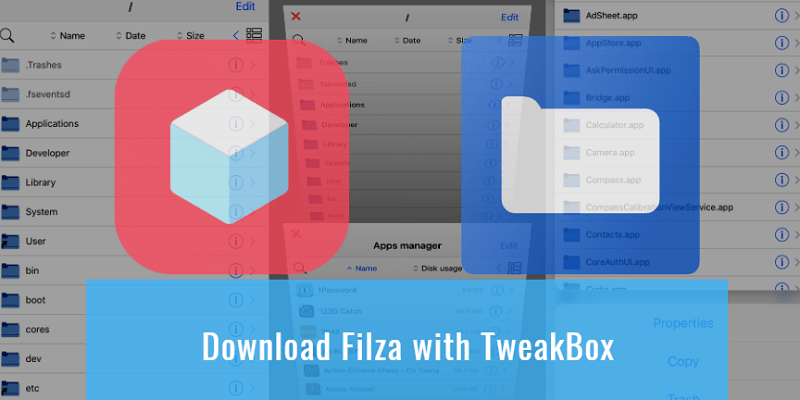 Filza for iOS - Download Filza for iPhone with TweakBox No