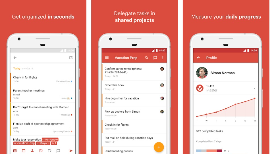 Todoist- To-Do list and Task Manager