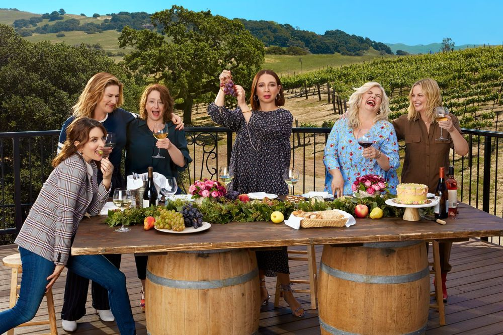 Wine Country movie cast