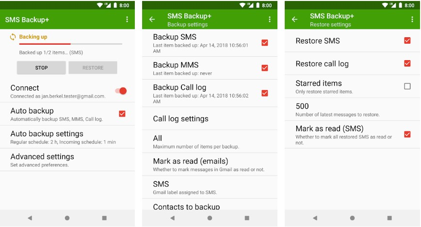 6 Best Andriod SMS Backup Apps to Backup Text Message