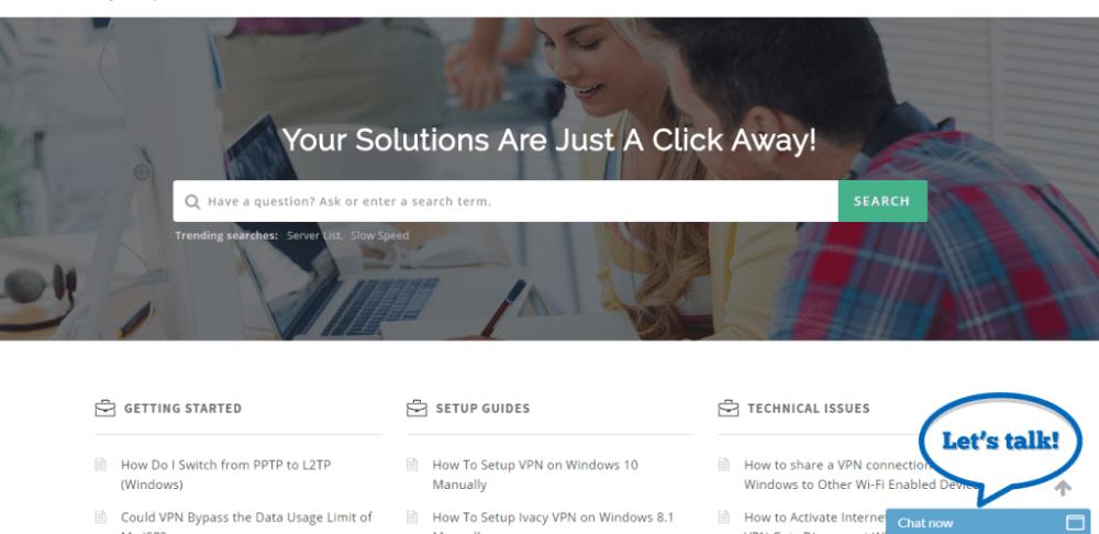 ivacyvpn-support