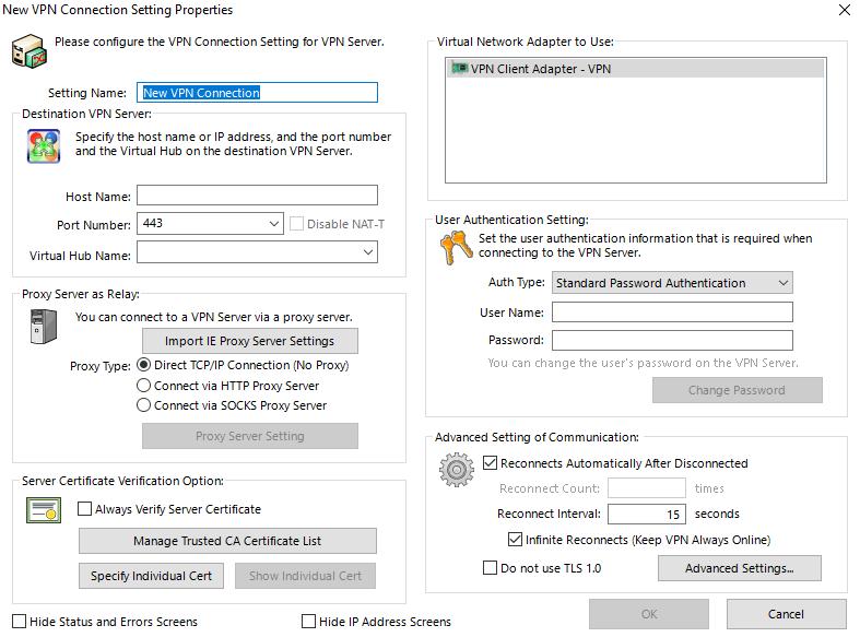 softether-adding-servers