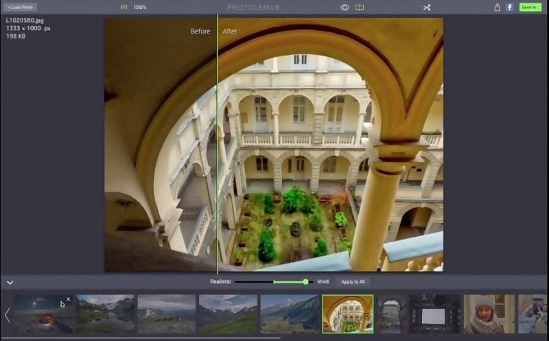 Photolemurs interface