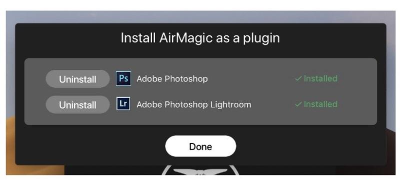 AirMagic plugin