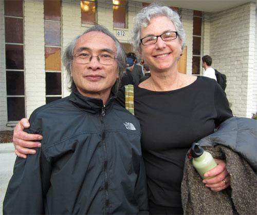 Ellen and Huang Huan