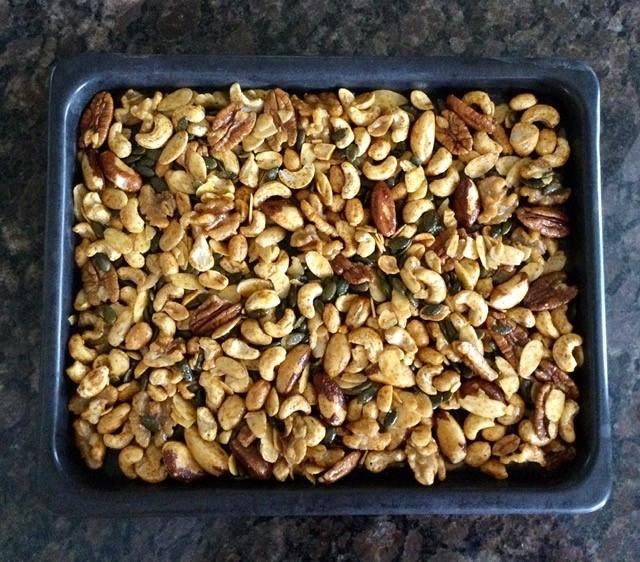 noix prêtes à rôtir