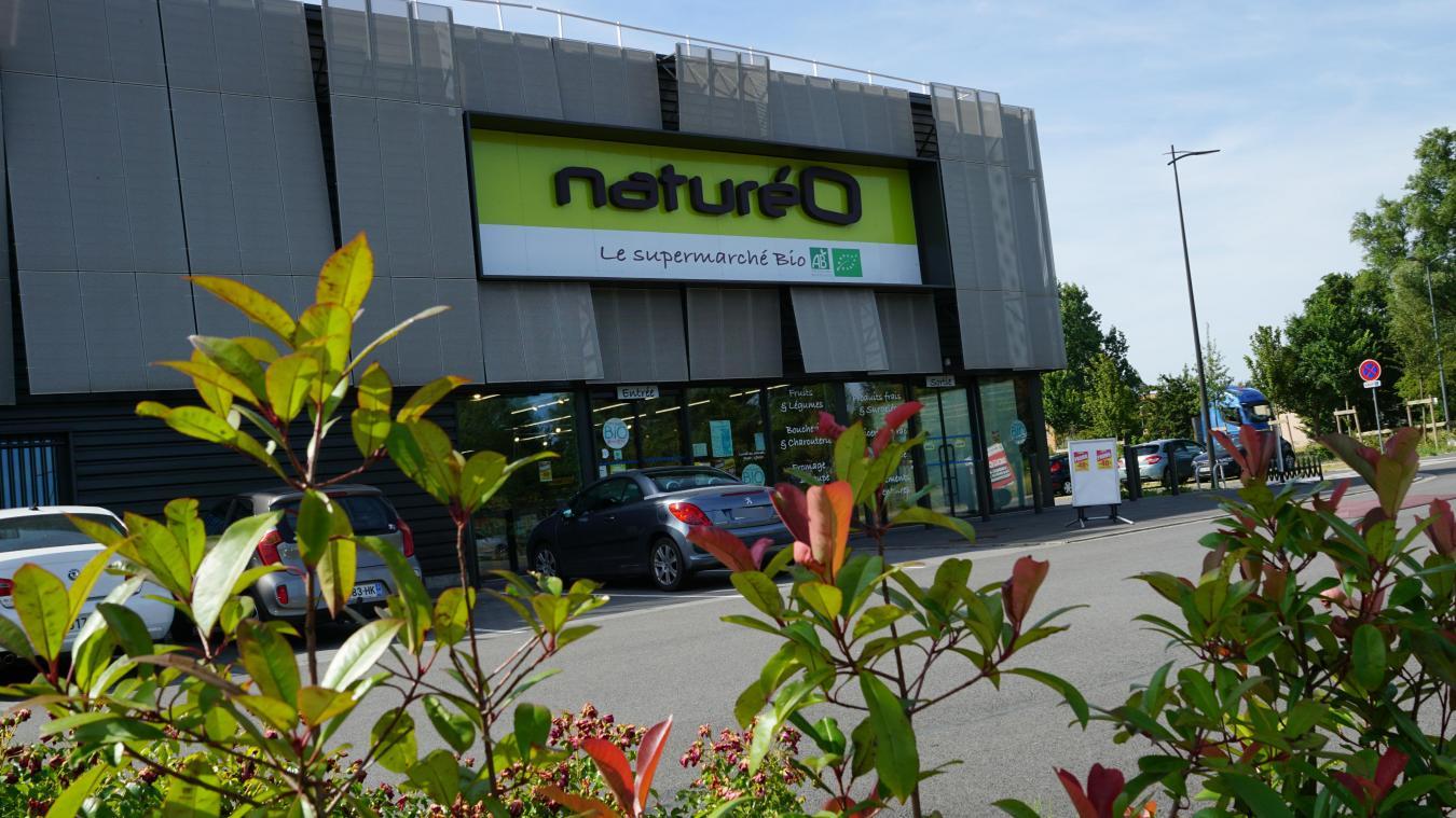 le supermarche bio natureo baisse