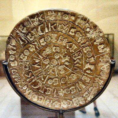 Phaistos Disk, Side A
