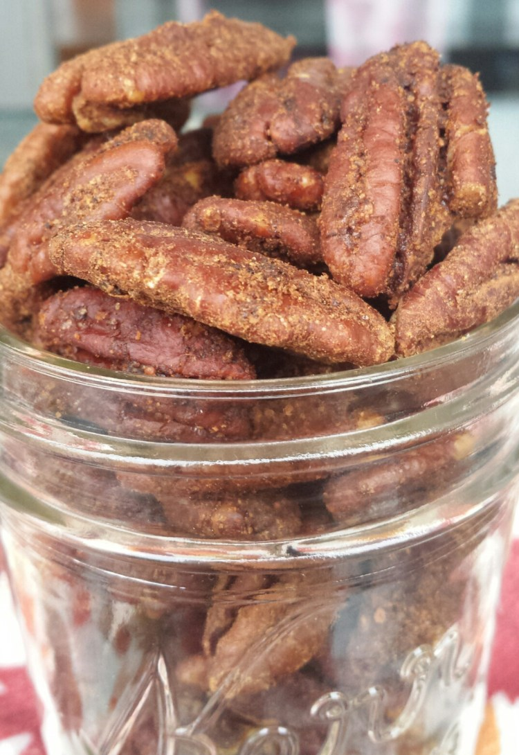 Gingerbread Candied Pecans