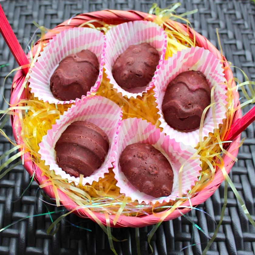Raw Vegan Easter Egg Chocolates