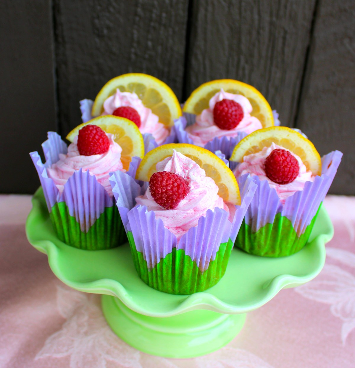 Pink Lemonade Cupcakes (Dairy-free)