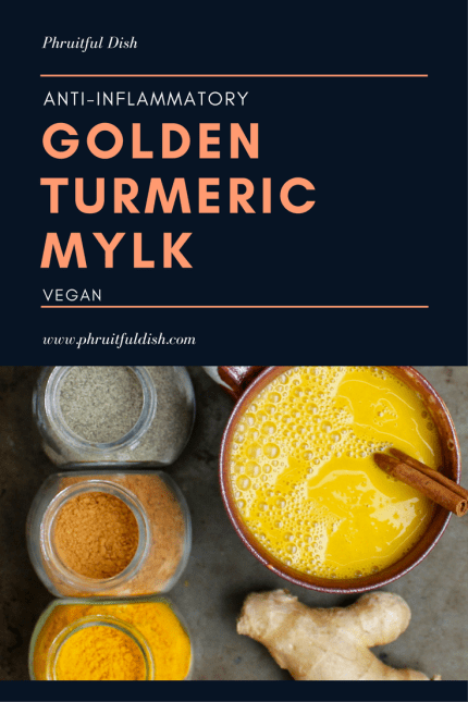 Golden Turmeric Mylk for Inflammation
