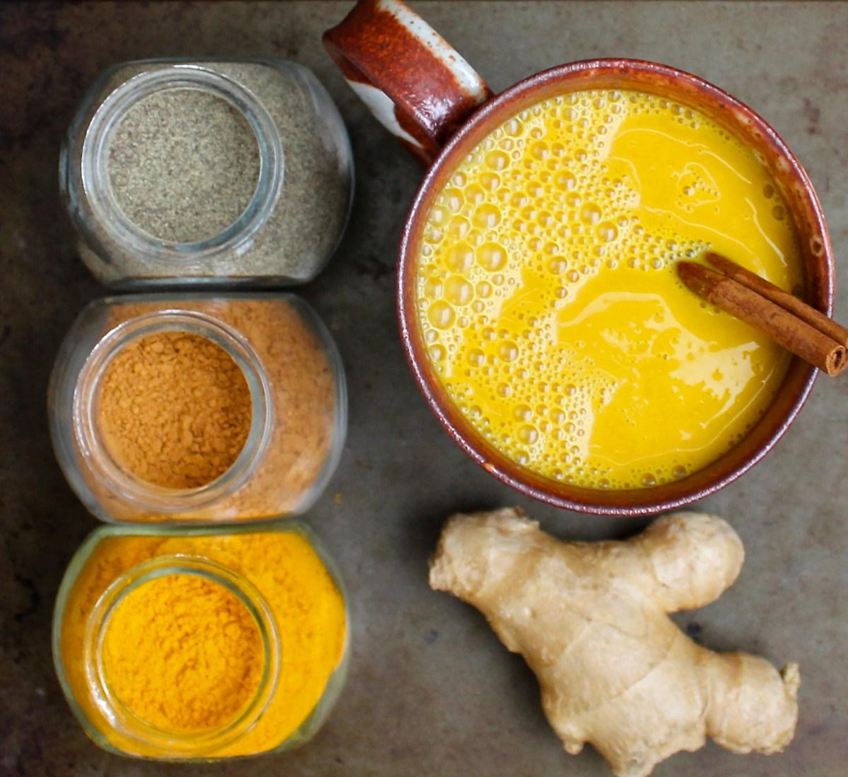 Golden Turmeric Milk (Anti-Inflammatory)