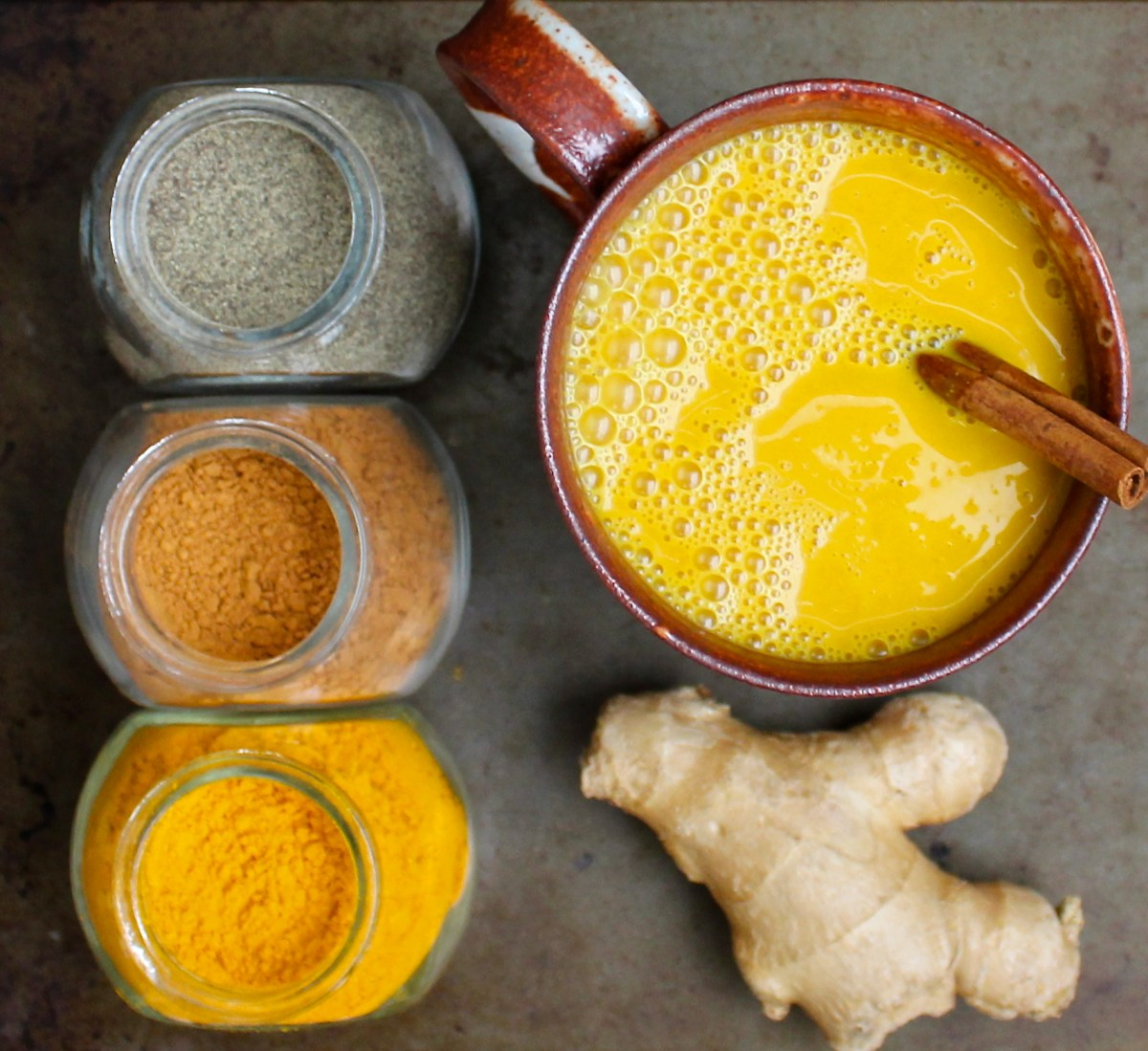 Golden Turmeric Milk (Anti-Inflammatory)