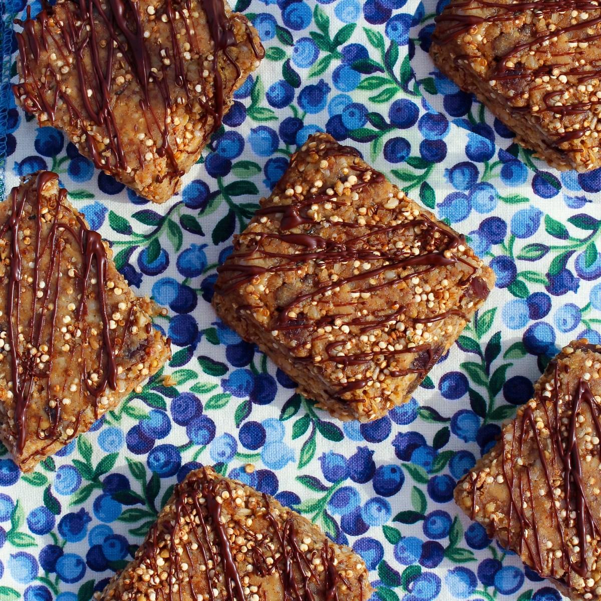 Trail Mix Superfood Granola Bars (Gluten-Free)