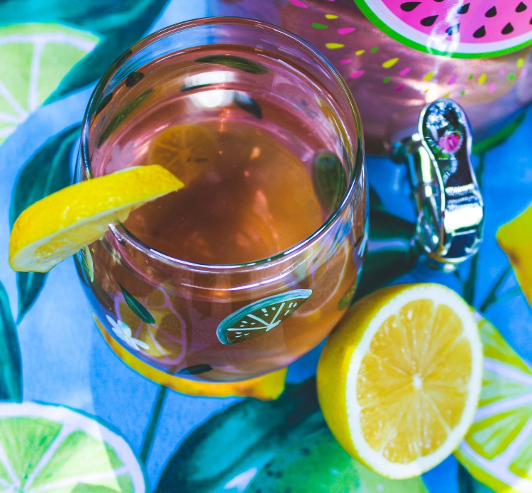 Manage Stress with Natural Calm Magnesium Iced Tea