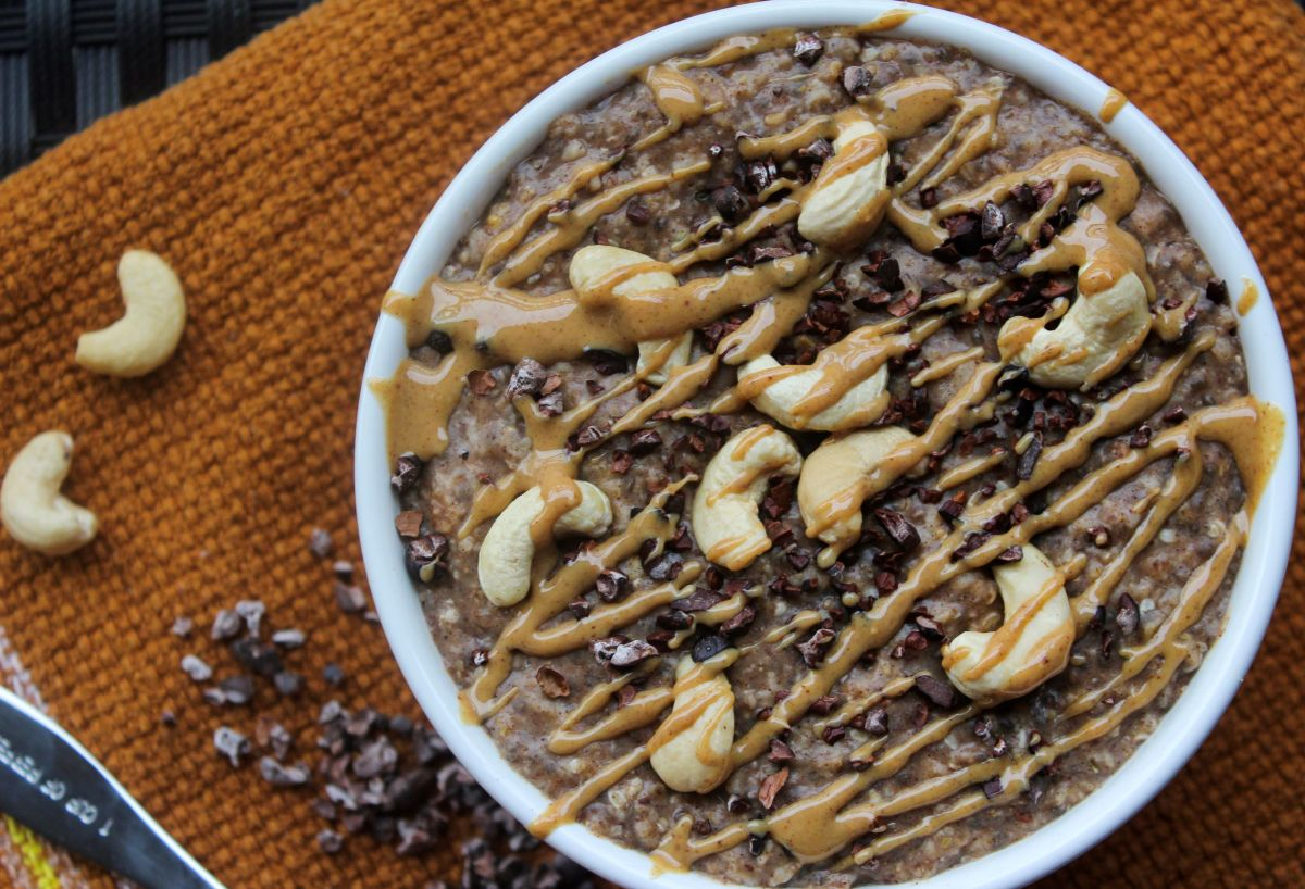 Vanilla Toffee Cinnamon Superfood Oatmeal