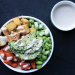 Plant-Powered Protein Bowl with Anti-Inflammatory Ginger Tahini Dressing
