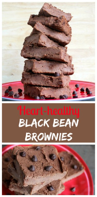 Heart-healthy Black Bean Brownies - Low-glycemic, Vegan, Gluten-free