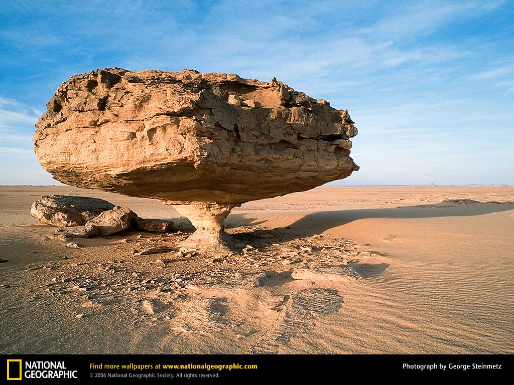 Wind Erosion And Landforms In Arid Environments