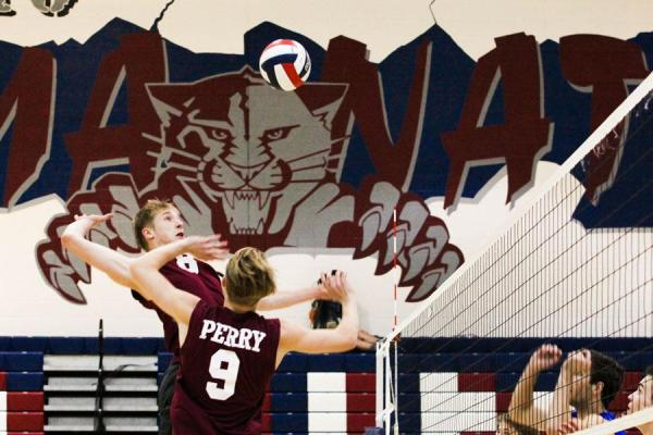 Boy's volleyball season ends in defeat – The Precedent