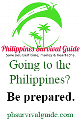 philippines survival guide help advice