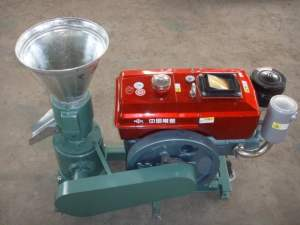 ZLSP120A pellet mill (diesel)