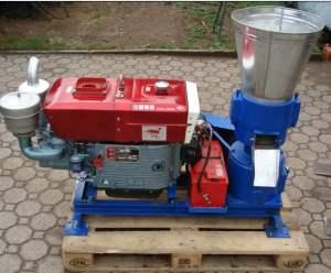ZLSP230A pellet mill (diesel)