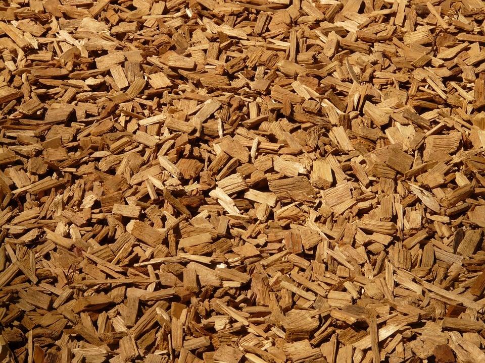củi dăm băm cho lò hơi từ gỗ cao su