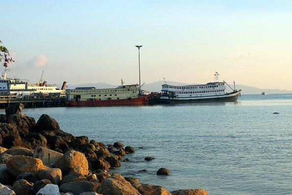 Ferry Pier Koh Pha Ngan