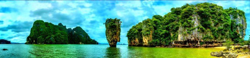 famous Maya beach in Thailand