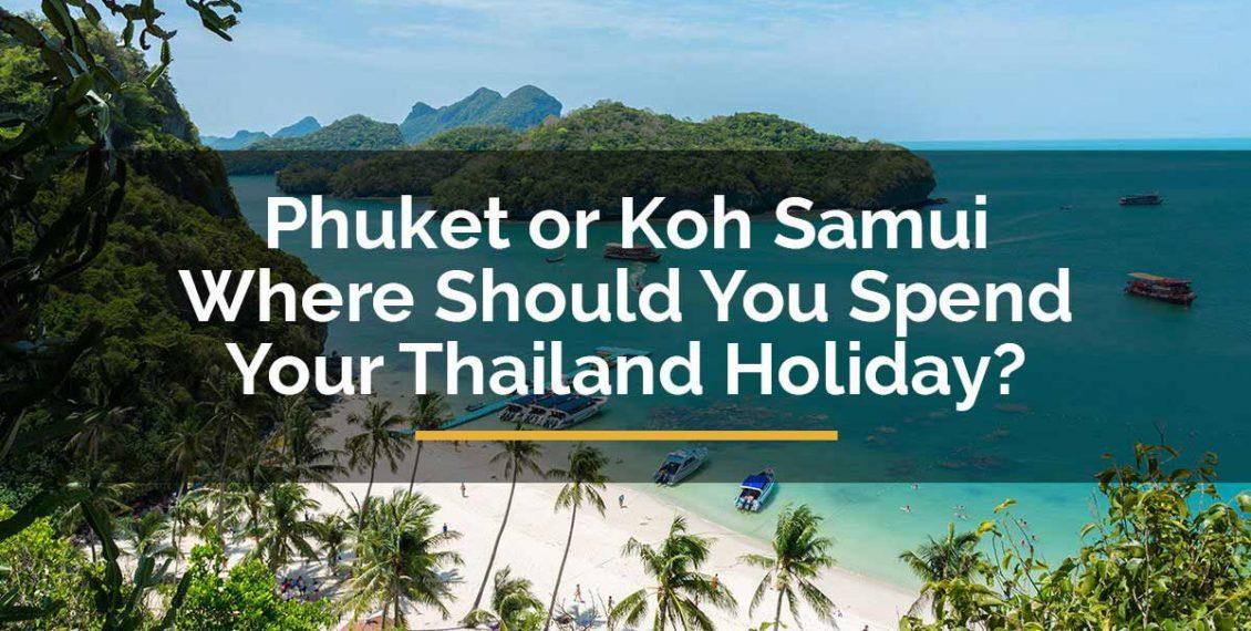 Phuket to Kohsamui travel