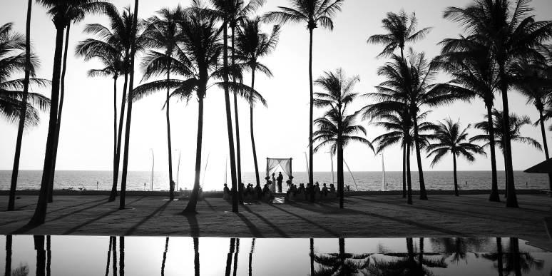 Phuket beach wedding photographer