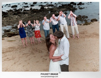 On the beach wedding in Thailand - 036
