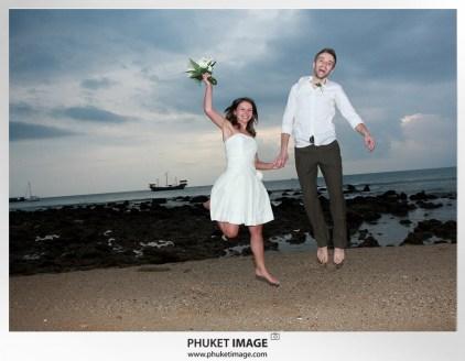 On the beach wedding in Thailand - 039