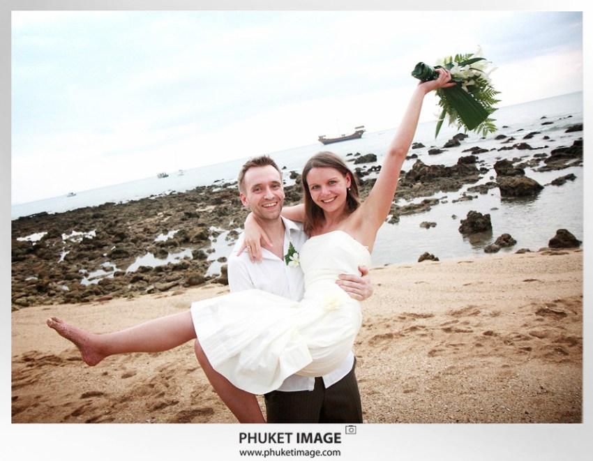 On the beach wedding in Thailand - 042