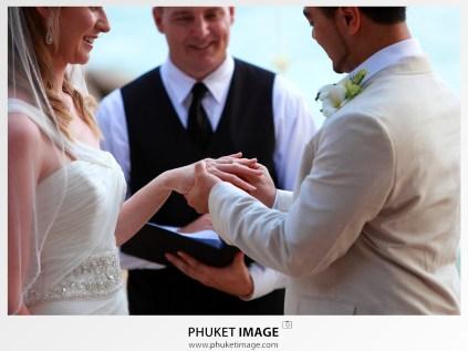 Phuket destination wedding ceremony and wedding reception photographer.